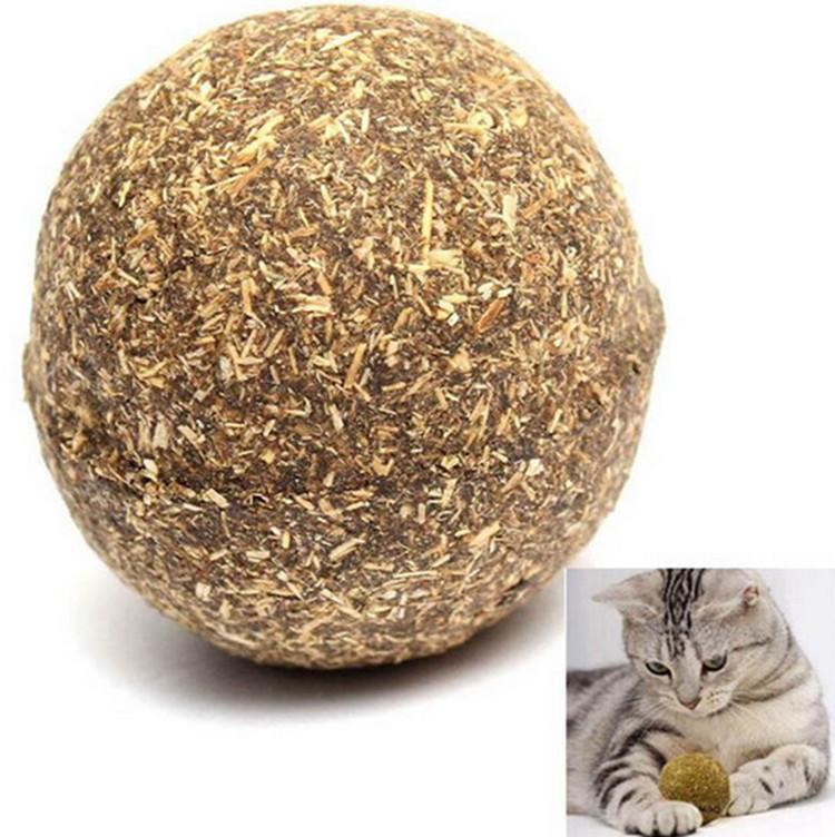 Natural Compressed Catnip Ball Petistan